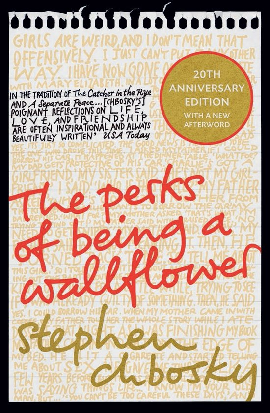 Perks of being a wallflower 20th anniversary edition