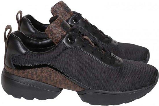e7d546ca19a bol.com   Michael Kors Sneakers Jada Trainer - Zwart