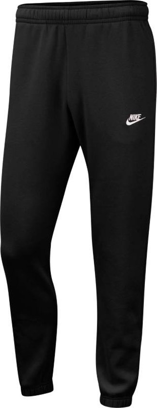 Nike Nsw Club Pant Cf Bb Heren Sportbroek - Black/Black/(White) - Maat M