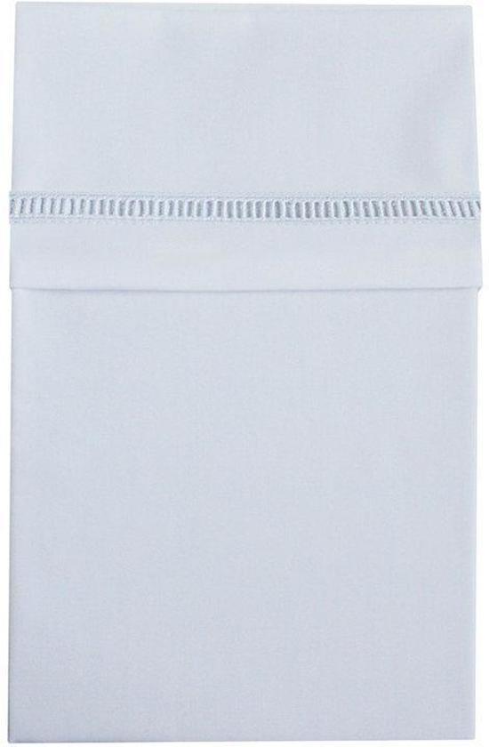 Cottonbaby Klassiek Ajourrand - Ledikantlaken 120x150 cm - Wit
