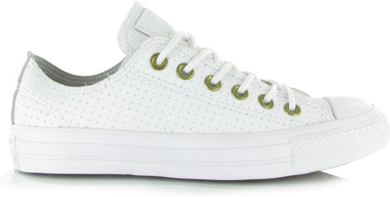05ed79cd643 bol.com | Converse All Star Craft Leather OX Wit