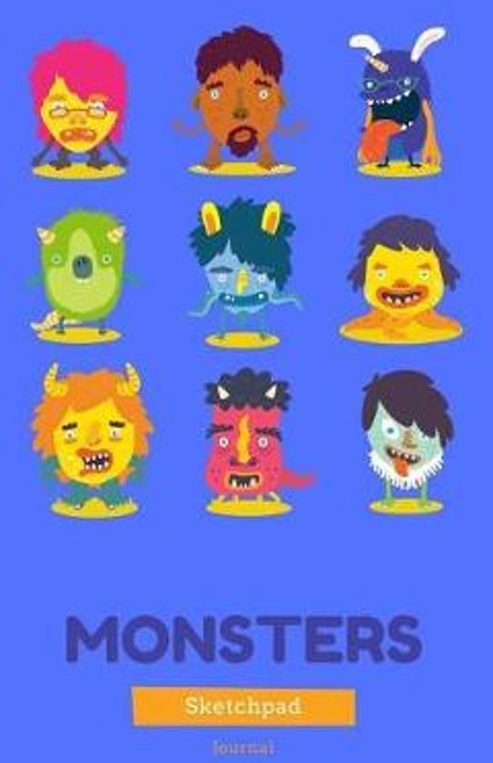Monsters Sketchpad & Journal
