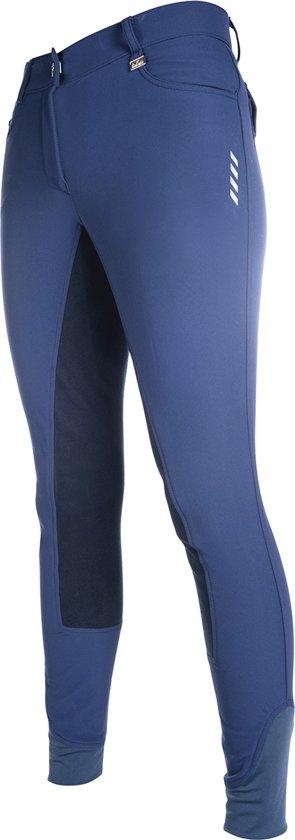 HKM Rijbroek -Neon Sports- 3/4 Alos zitvlak donkerblauw/donkerblauw 34