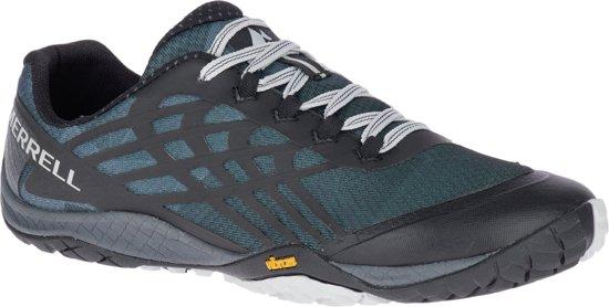 Merrell Trail Glove 4 Hardloopschoenen - Dames - Black Silver