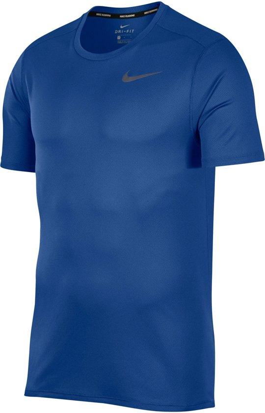 Nike Sportshirt - Maat L  - Mannen - blauw
