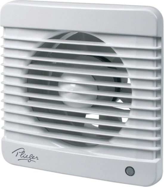 bol.com | Plieger Basic ventilator - Ø125 mm - wit