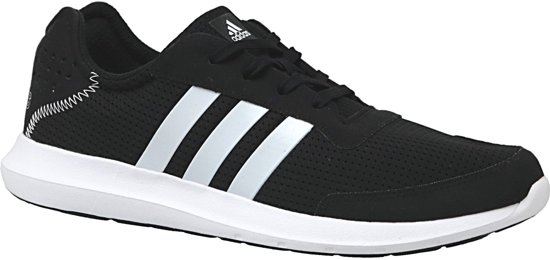 Adidas Element Athletic Refresh BA7911, Mannen, Zwart, Hardloopschoenen maat: 45 1/3 EU