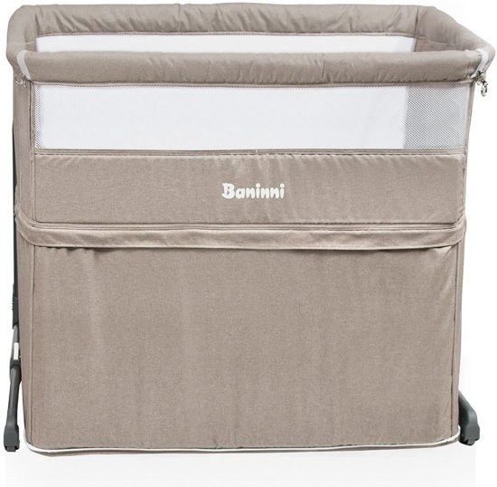 Baninni 2-in-1 Co-Sleeper & Park Leya Sand