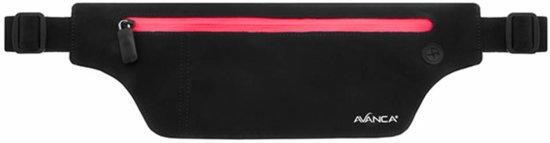 Avanca Runners waistbelt zipper neon roze uni (AVWB-0107)