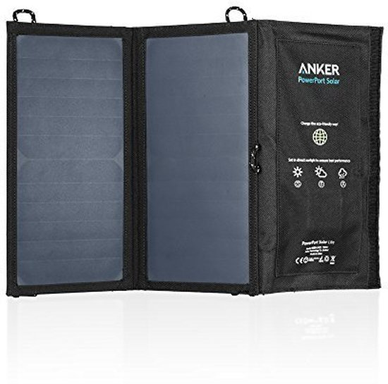 Anker PowerPort 15W 2-Port Solar Charger