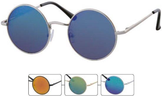 d1d83b0eec4210 Ronde zonnebril hippie john lennon gabber stijl - 3 stuks