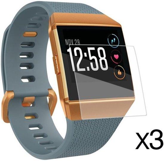 3x Screenprotector Voor Fitbit Ionic - Screen Protective Set