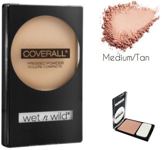 Wet 'n Wild CoverAll Pressed Powder - 826B Medium/Tan