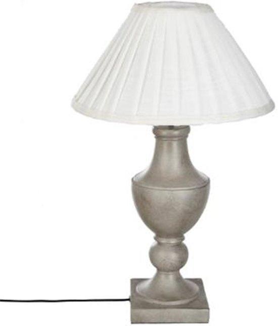 Maxx Déco Tafellamp - Decolamp - Ø 36 cm - gebroken wit