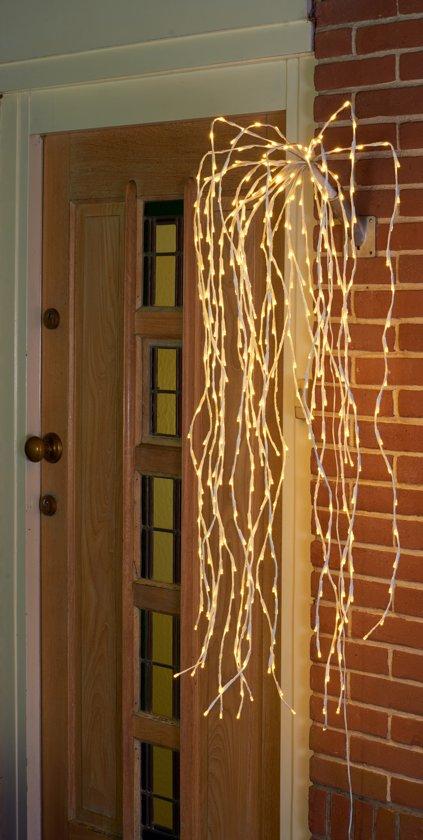 bol.com   CBD Vlaghouder verlichting wit - 400 LED - 120 cm - Warm Wit