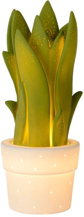 Lucide SANSEVIERIA - Tafellamp - E14 - Groen