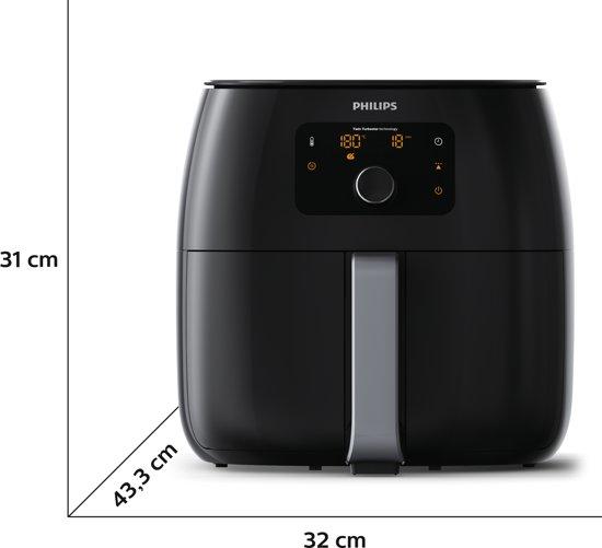 Philips Avance Airfryer XXL HD9650/90 - Hetelucht friteuse