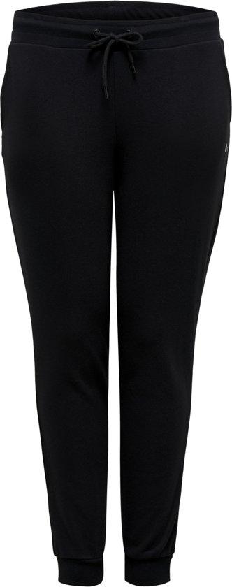 Only Play Curvy Elina Sweat Pants Sportbroek Dames - Black - Maat 52/54
