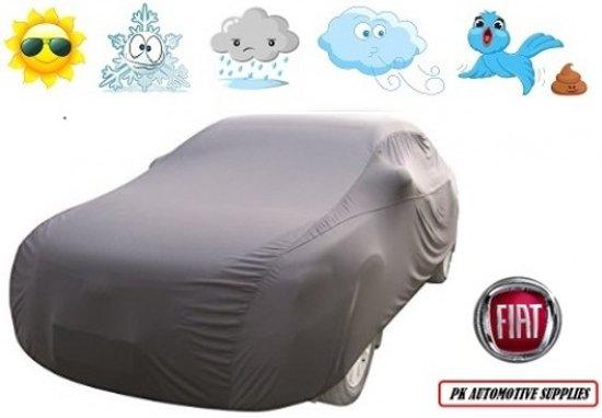 Autohoes Grijs Polyester Stretch Fiat Punto 1999-2003