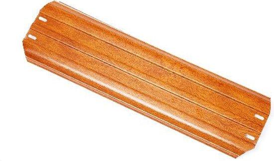 Bovenligger zwembad houtdecor ovaal 137 cm (PLAYA Q)