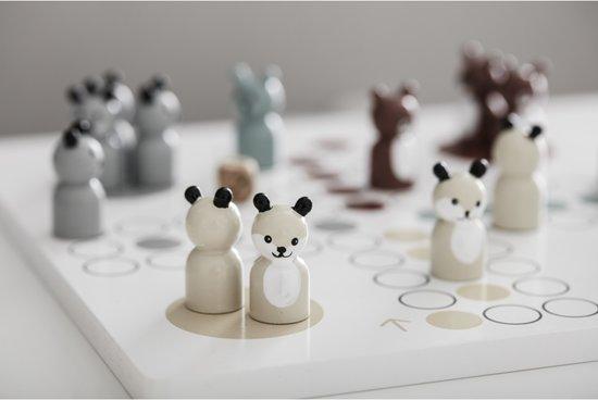 Houten mens-erger-je-niet spel Edvin Kids Concept