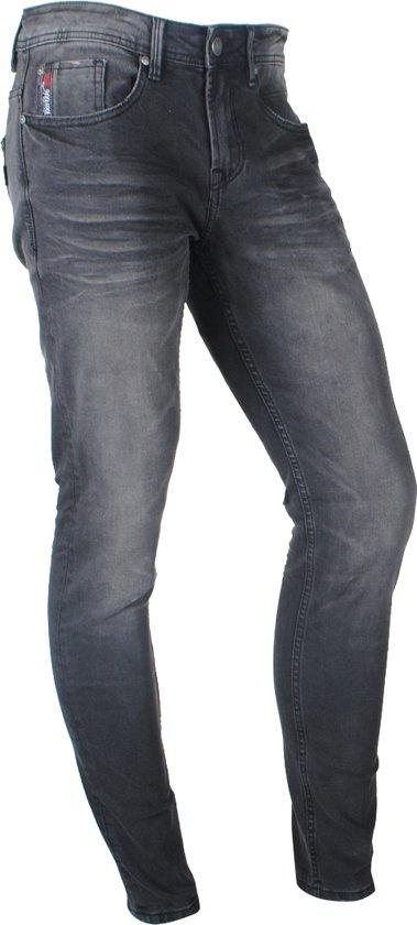 Deeluxe - Heren Jeans - Slim Fit - Carlos - Lentemaat 32 - Black Used