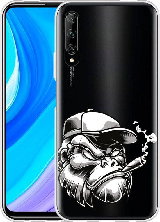 Huawei P Smart Pro Hoesje Gorilla Head