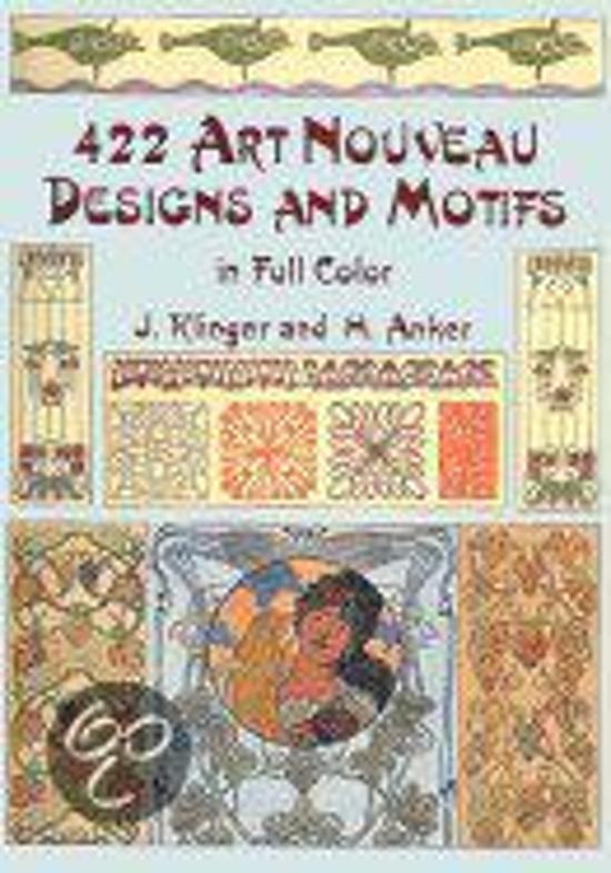 422 Art Nouveau Designs And Motiffs