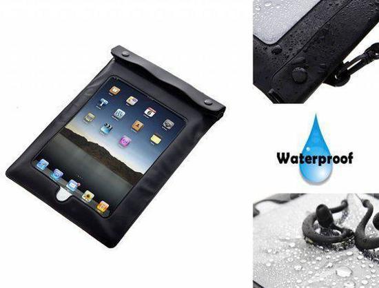 Waterdichte case voor uw Icarus Excel E1050bk - Kleur Zwart - merk i12Cover