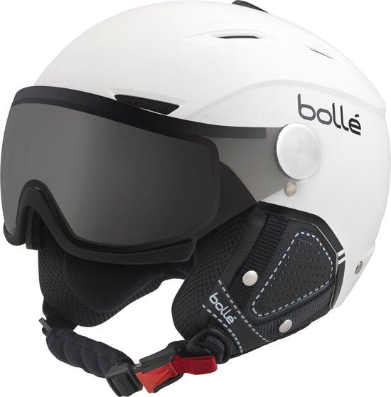 Bollé Helmet 31427 - Skihelm - Soft White & Black - Unisex Maat 56-58 CM