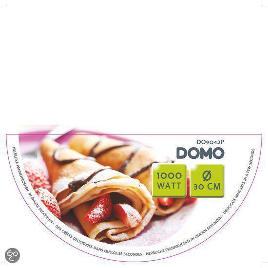 Domo DO9042P Pannenkoekenmaker 29 cm
