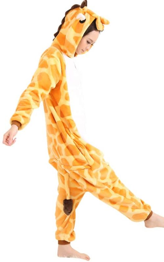 89e0226fb98 Giraffe Onesie Verkleedkleding - Volwassenen & Kinderen - XL (175-195 cm)