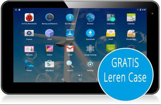 EKEN Tablet 10 inch Quad Core W10GPS 16GB MTK8127 & GPS functie + HDMI + Gratis Beschermhoes