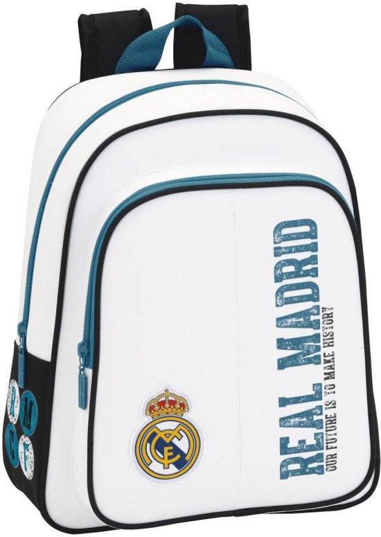 53c4daba77a bol.com | Real Madrid History Rugzak - 34 cm - Wit