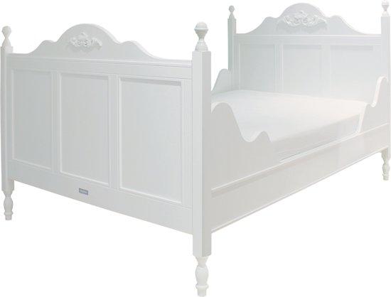 Meisjes Bed 90x200.Bol Com Bopita Twin Bed 120x200 Romantic Wit