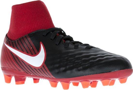 Nike Magista Onda II DF AG-Pro  Voetbalschoenen - Maat 36 - Unisex - zwart/rood/wit
