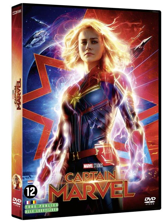 DVD cover van Captain Marvel