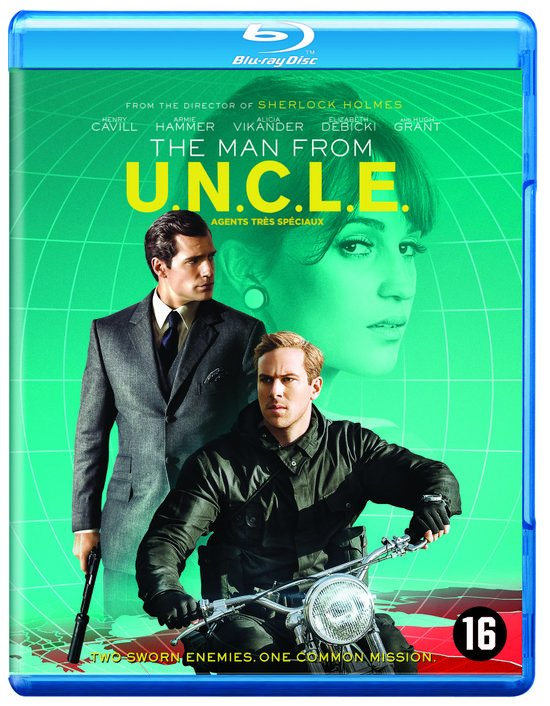 DVD cover van The Man From U.N.C.L.E. (Blu-ray)