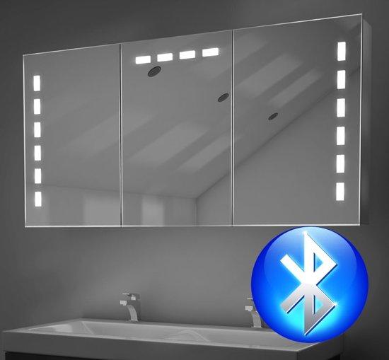 bol.com | Badkamer spiegelkast met spiegelverwarming en ...