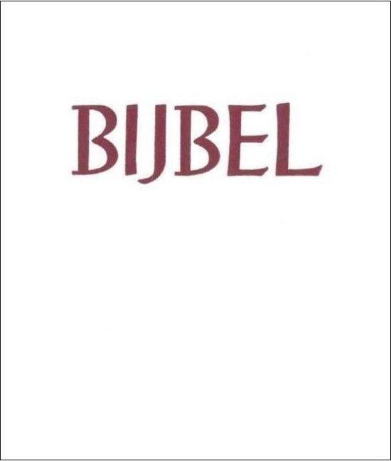 Bijbel Statenvertaling Huisbijbel, Stevig kunstleer goudsnee wit