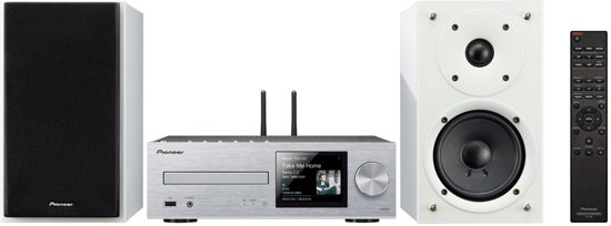 Pioneer X-HM76DAB Micro Systeem - Zilver / Wit