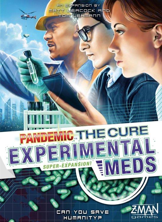 Pandemic The Cure Experimental Meds - Uitbreiding - Engelstalig