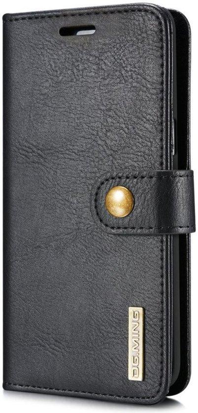 d5c28b4c571 bol.com | Samsung Galaxy S8 Echt Leren Portemonnee Hoesje Zwart