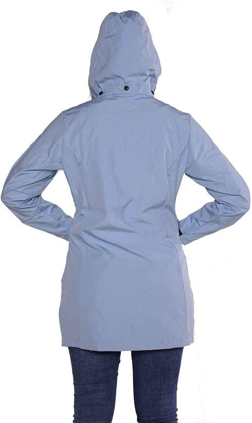 Lichtblauwe Winterjas.8xl Softshell Emilie 56 Lichtblauw Dames Jas Bjornson Maat Parka S0x7wxu