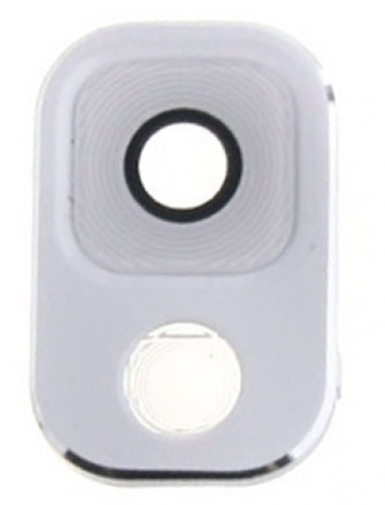 Camera Lens met Cover geschikt voor de Samsung Galaxy Note 3 wit