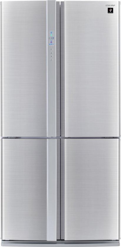 Sharp SJFP810VST - Amerikaanse koelkast - RVS