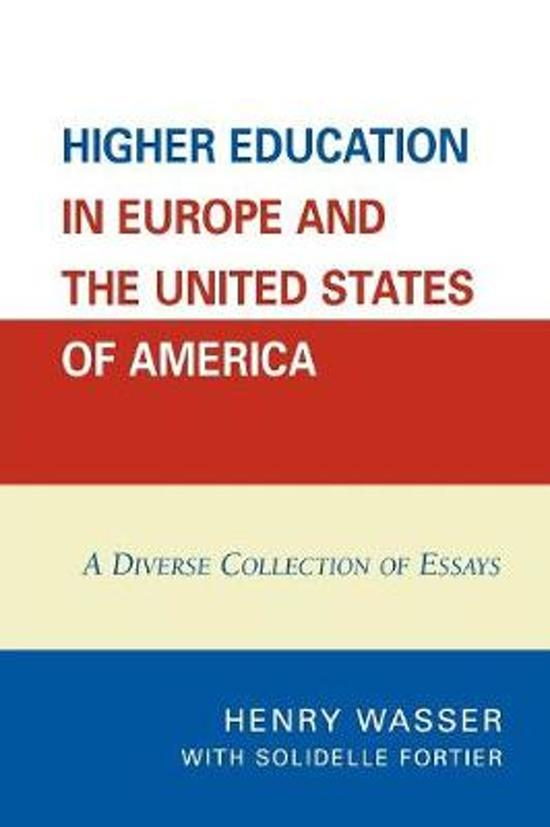 essay on higher education in america A brief history of education in the united states development of the american economy this essay is the companion elementary, secondary, and higher education.
