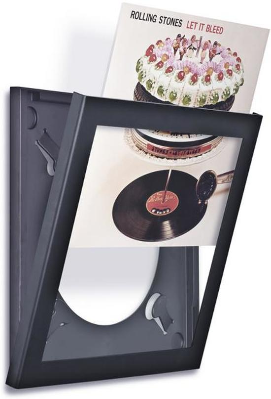 Wissellijst cd en dvd opbergsysteem zwart for Boeken opbergsysteem