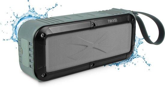 NIKKEI BOXX3GY Waterbestendige Bluetooth speaker - Grijs