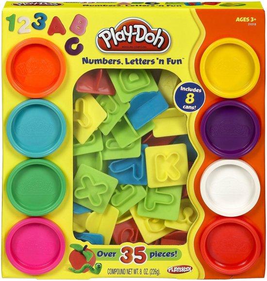 Play-Doh Cijfers - Letters 'n Fun - Speelklei